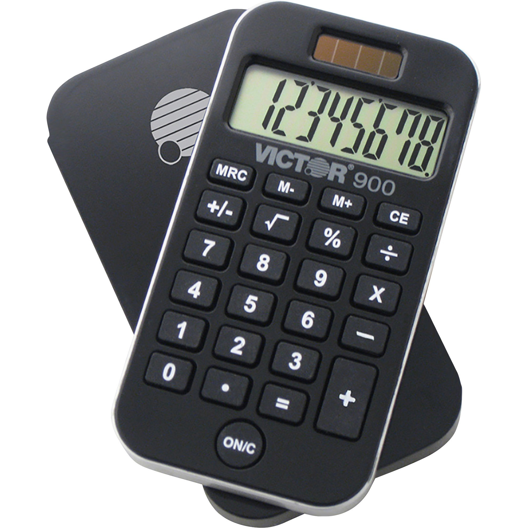 Victor, VCT900, 900 Handheld Calculator, 1 Each, Black