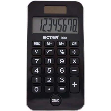 Victor, VCT900, 900 Handheld Calculator, 1 Each,