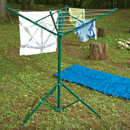 Greenway Portable Outdoor Rotary Clothesline (Portable Clothesline)