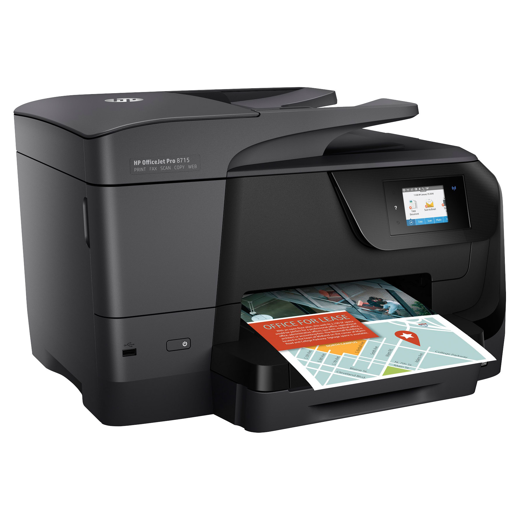HP Officejet Pro 8715 All-in-One Color Inkjet Printer by HP