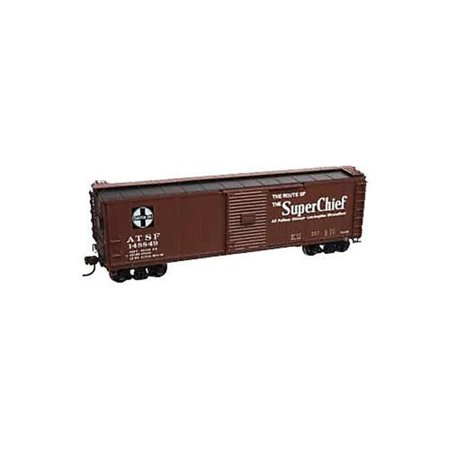 SP Whistle Stop ATM6424-1 HO Scale Steel Boxcar SF Super Chief No. 148800