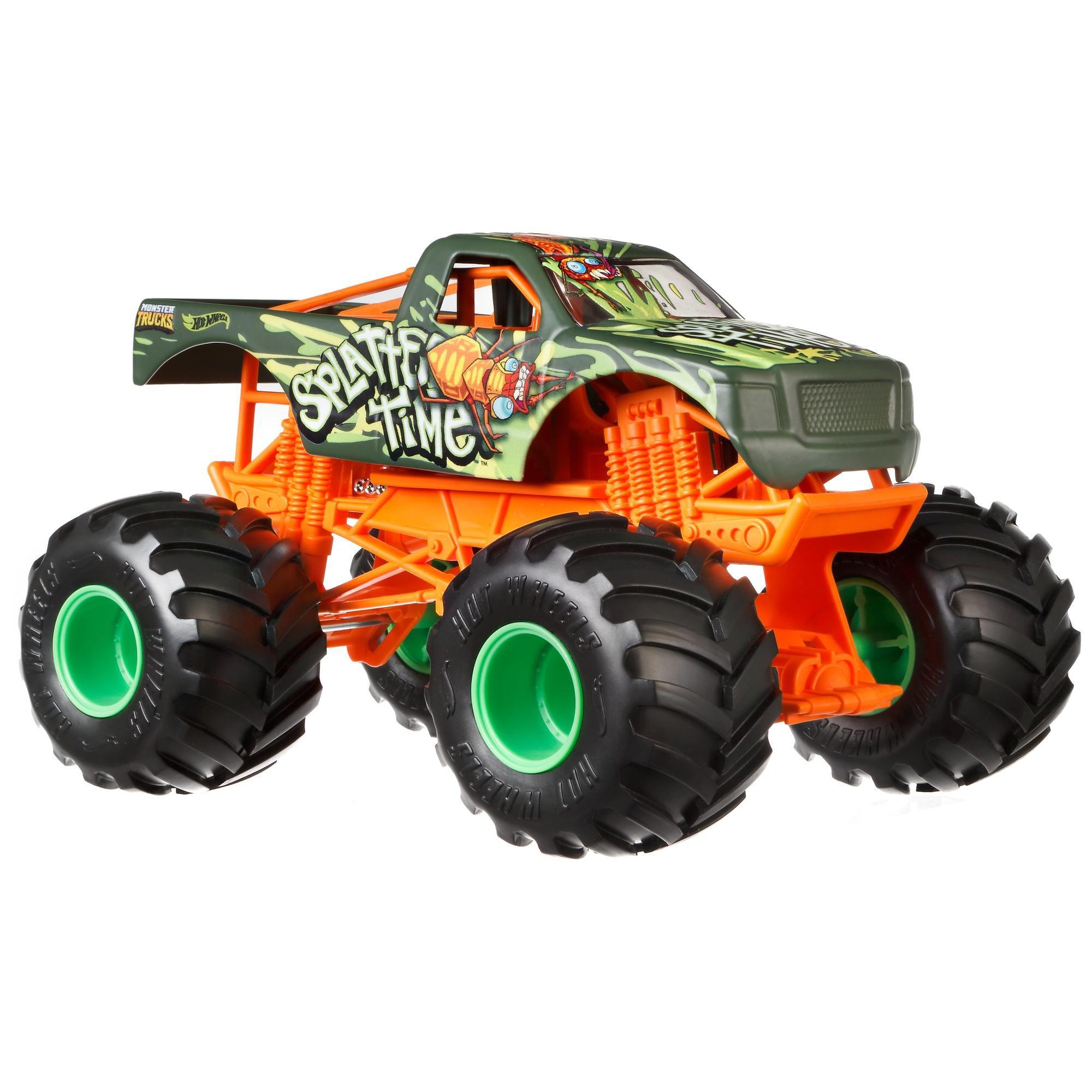 Hot Wheels Monster Trucks 1:24 Scale Splatter Time by Mattel