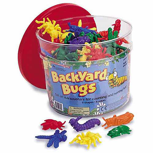 Generic DISCONTINUED Learning Resources Bug Counters, 144 - Count