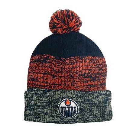 Edmonton Oilers NHL Static Cuff Knit Toque - image 1 of 1