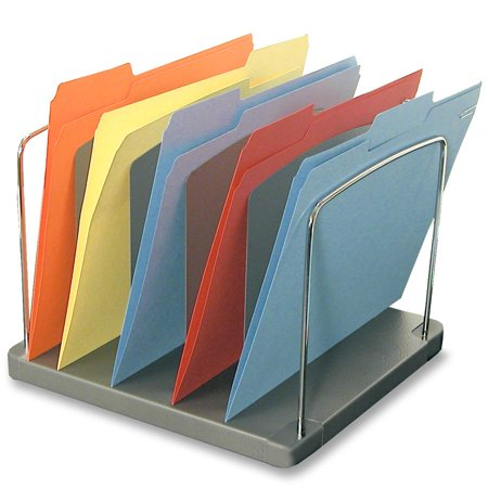 - Sandusky Buddy Trio Vertical 5-Pocket Desktop Organizer, Black