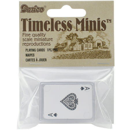 Timeless Miniatures-Playing Cards (Miniature Playing Cards)