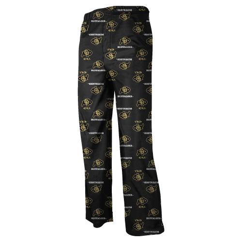Colorado Buffaloes Youth NCAA Printed Logo Pajama Pants by Outerstuff