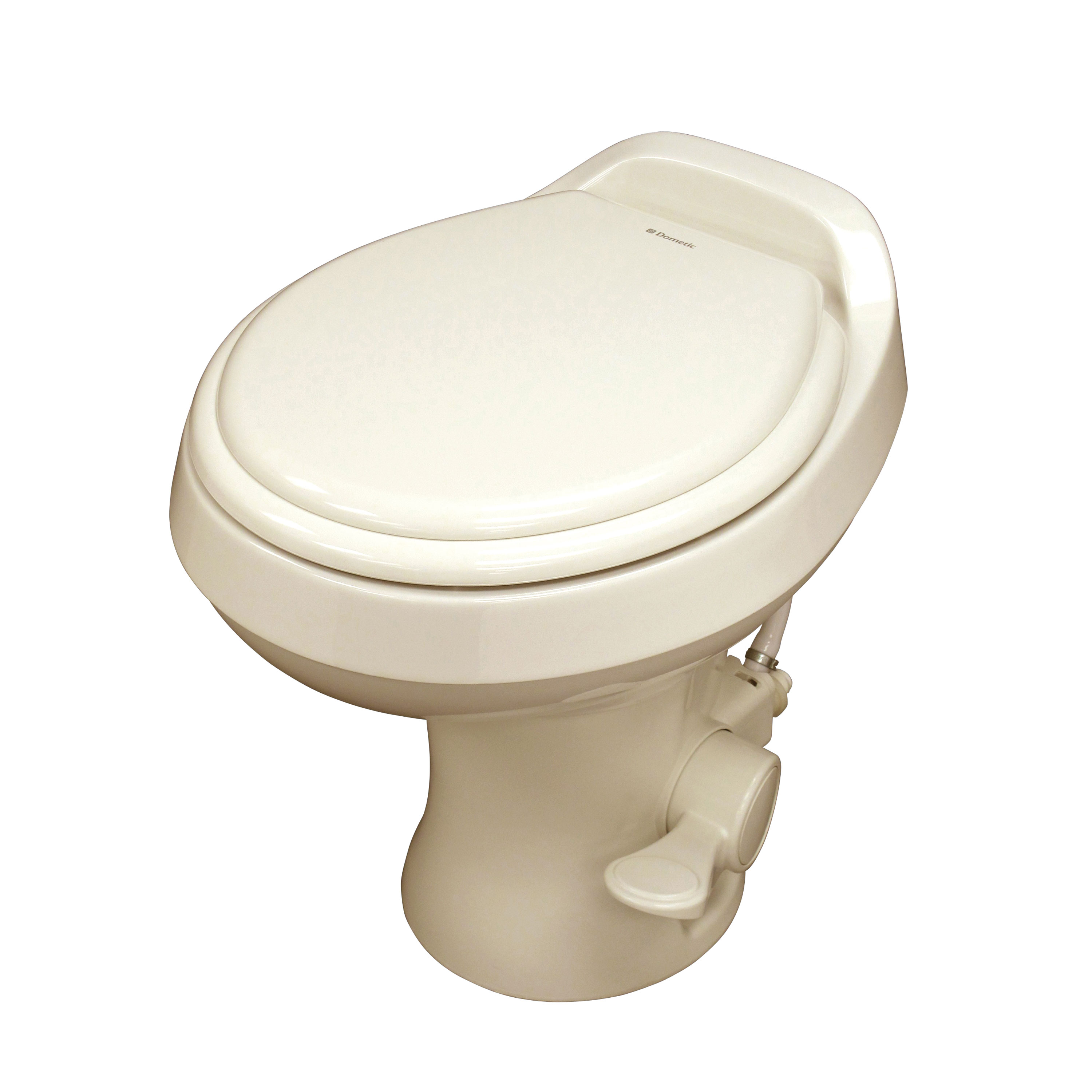 Dometic 302300073 300 Series Standard Height RV Toilet Bone by Dometic