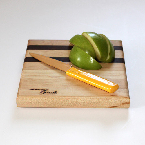 Tableboards Small Maple Utility Cutting Board with Walnut Accent