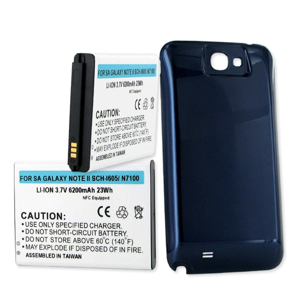 Empire Industries SAMSUNG GALAXY NOTE II 6.2Ah LI-ION EXT...