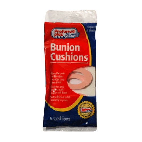 Bunion Cushions Large By Preferred Plus - 6 Ea