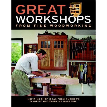 Black Woods Magazine (Great Workshops from Fine Woodworking : Inspiring Shop Ideas from America's Favorite Woodworking Magazine)