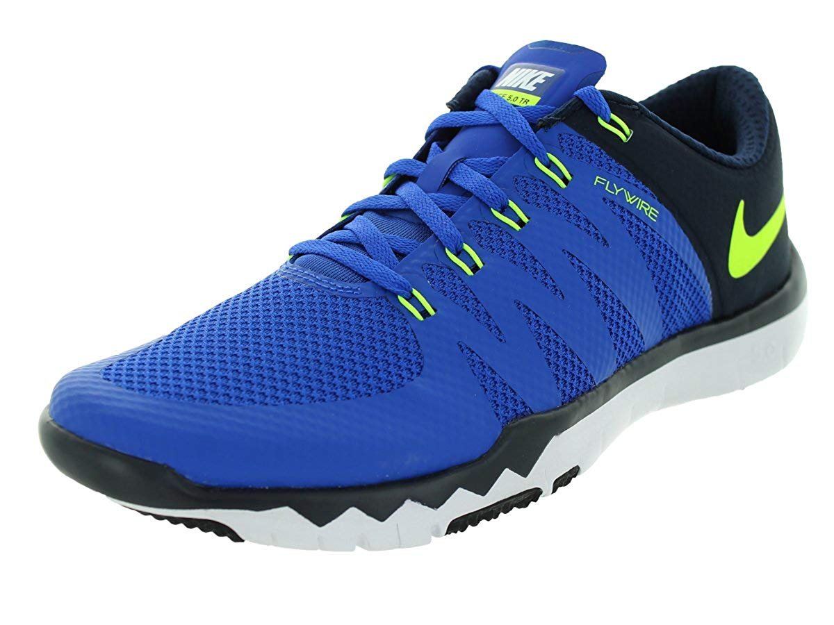 1eec2ad62029a ... official store nike free trainer 5.0 v6 cross trainer game royal volt  obsidian 10.5 38293 fa9bb