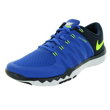 Nike Free Trainer 5.0 V6 Cross Trainer, Game RoyalVolt-Obsidian, 11