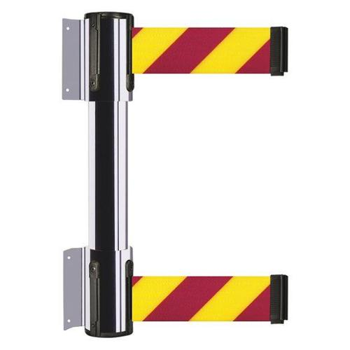 TENSATOR 896T2-1P-MAX-D5X-C Belt Barrier, Polished Chrome