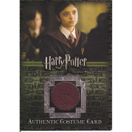 Harry Potter and the Order of the Phoenix Gryffindor School Robe Authentic Costume Card - Phoenix Costume