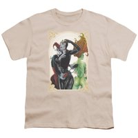 Batman - Sirens Nouveau - Youth Short Sleeve Shirt - Large