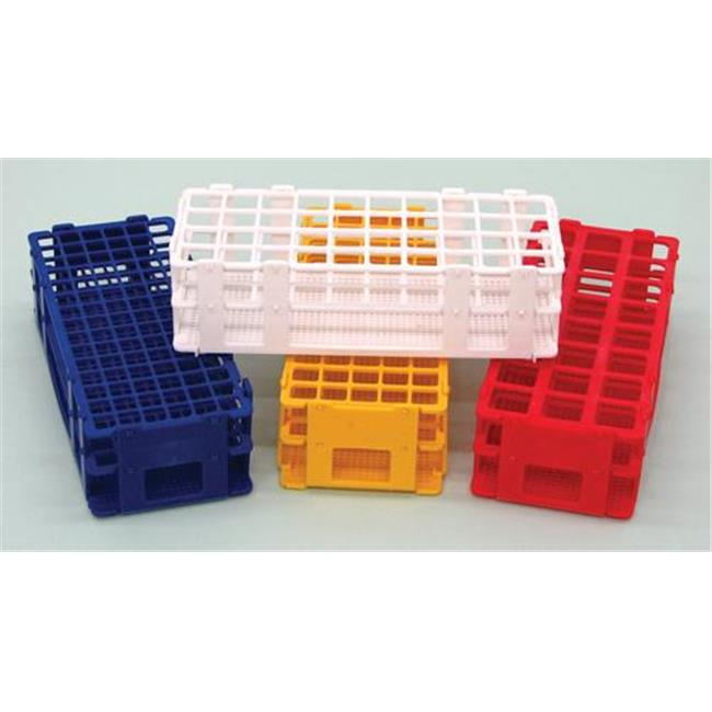 Olympia Sports 16611 Stackable Test Tube Rack - Blue