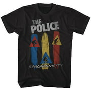 The Police British Rock Band Synchronicity Vintage Adult T-Shirt Tee