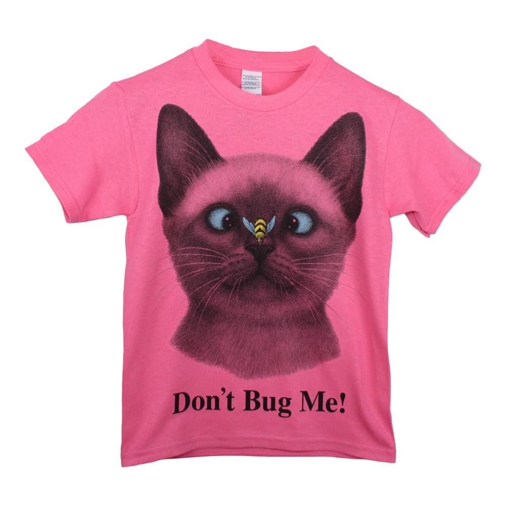 Childrens Park Avenue Girls Pink Llamacorn Print Short Sleeve Soft Cotton T-Shirt 6-16