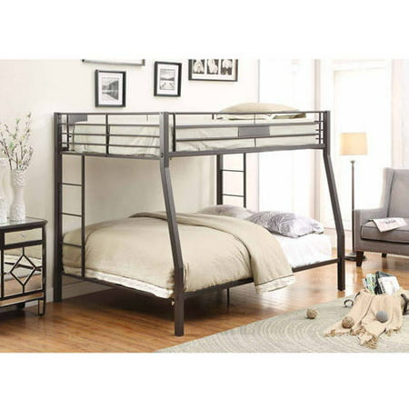 Acme Furniture Limbra Full Over Queen Metal Bunk Bed