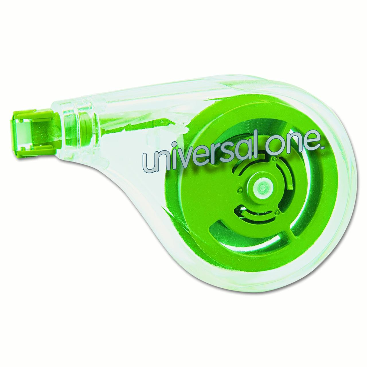 "Universal One Sideways Application Correction Tape, 1/5"" x 393"", 2 Ct"
