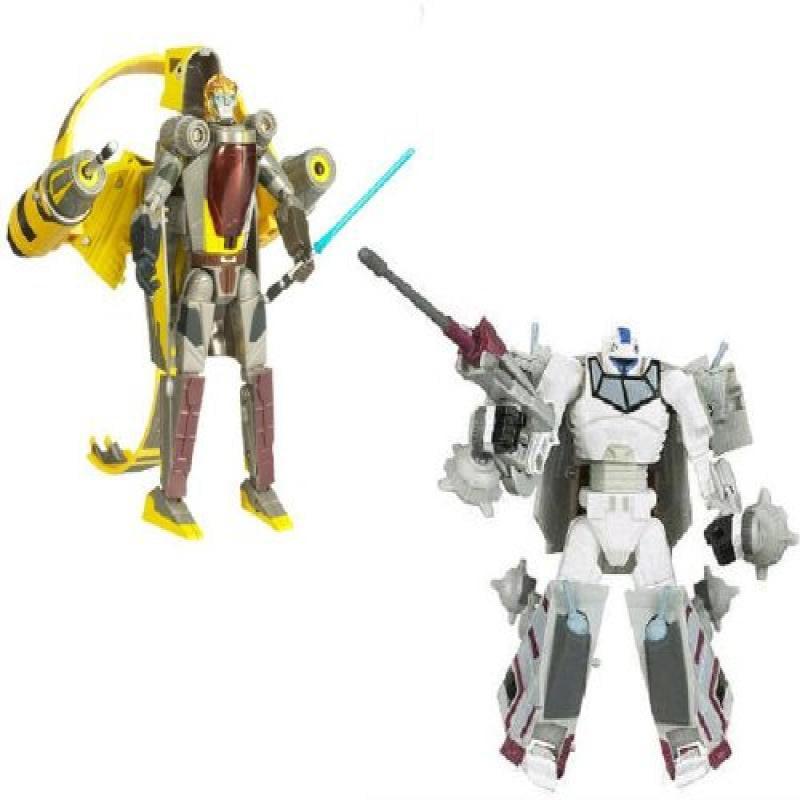 Hasbro Star Wars Transformers Crossovers Blockbuster 2 Pa...