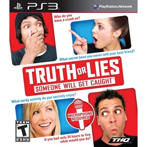 Thq Truth Or Lies Entertainment - Complete Product - Standard - 1 User - Retail - Playstation 3 (99156)