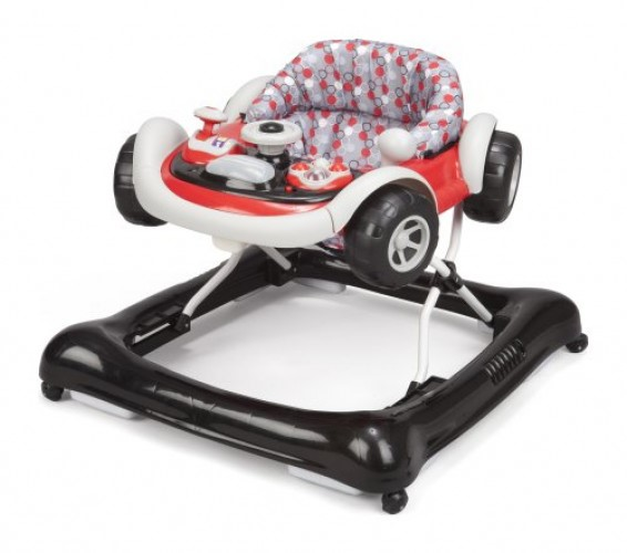 Delta Children 22201-025 Lil' Drive Baby Activity Walker by Delta Children