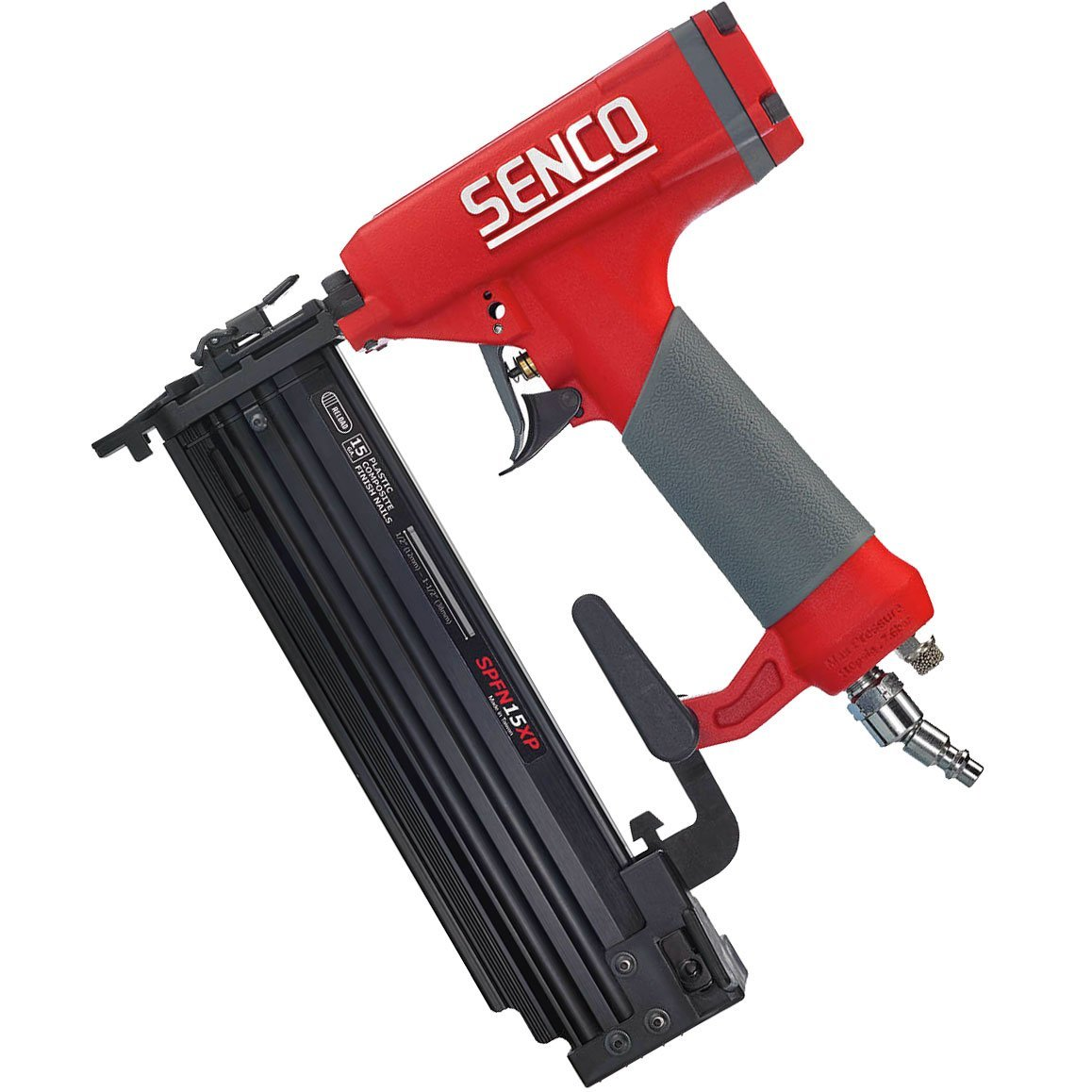"SENCO SPFN15XP 15 Gauge Composite Finish Nailer, 1 2"" to 1-1 2"" by Senco Tools"