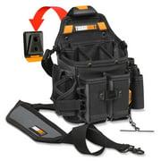 Best Electrician Tool Pouches - ToughBuilt Journeyman Electrician Pouch + Shoulder Strap TB-CT-114 Review