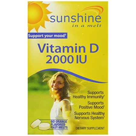 3 Pack Windmill Health Products Vitamin D Melts Supplement 60 Capsules Each