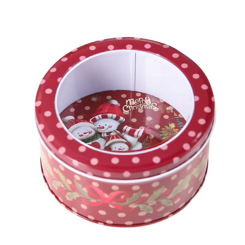 """Christmas Holiday Mailbox Tins Metal Box with Lid Christmas New 5"""" x 3.5"""" x 2.5"""""""