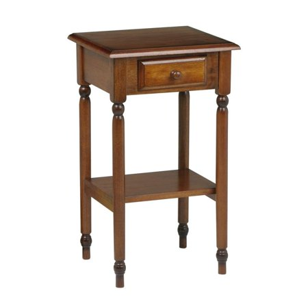 knob hill tall side table antique cherry. Black Bedroom Furniture Sets. Home Design Ideas