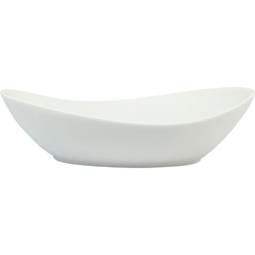 Better Homes and Gardens Oval Serving Bowl, White