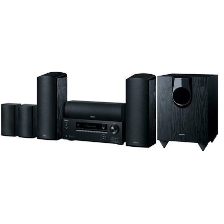 Onkyo HT-S5800 5.1.2-Channel Dolby Atmos Home Theater Package Onkyo Wireless Home Theater System