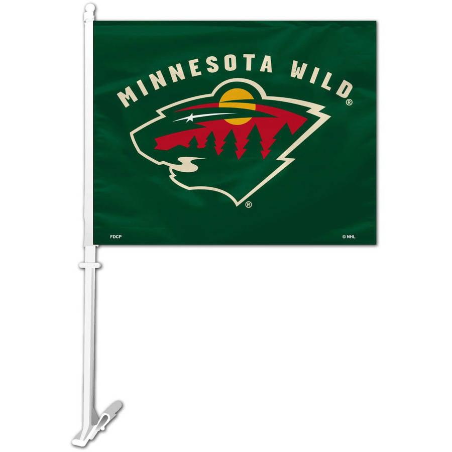 NHL Minnesota Wild Car Flag