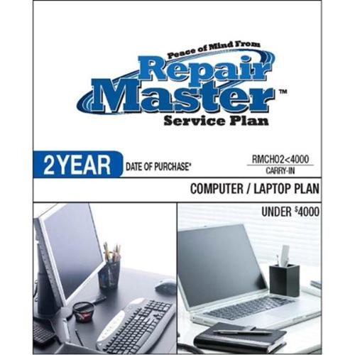 Repair Master  2-Yr Date of Purchase Computer/Laptop Plan - Under $4,000