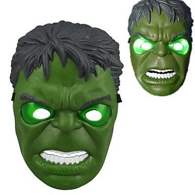 The Hulk Mask (, Hulk LED Light Up Halloween Mask 2014 HLWMSK72, High quality product By HLLWN)