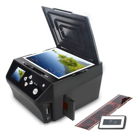 DIGITNOW Photo Scanner Film &Slide Multi-Function Scanner with HD 22MP, Convert 135Film/35mm slide/110Film/Photo/Document/Business Card to Digital JPG Files,Includes 8GB Memory (Convert 35mm Slides To Digital At Home)