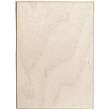 "Baltic Birch Rectangle Plaque-5""X7""X.38"""