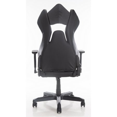 ViscoLogic M3 Ergonomic High-Back Gaming Racing Style PC Video Game Home Office Computer Chair (Grey & Black) - image 3 of 7