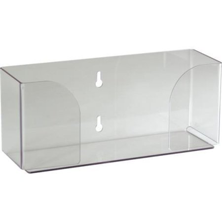Glove Box Holder Acrylic Single Horizontal Orientation