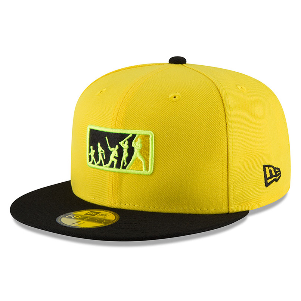Pittsburgh Pirates New Era 2018 Players' Weekend Team Umpire 59FIFTY Fitted Hat - Yellow/Black