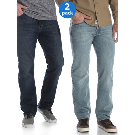 Big Star Jeans Clearance (Wrangler Big Men's 5 Star Relaxed Fit Jean with Flex 2-Pack)