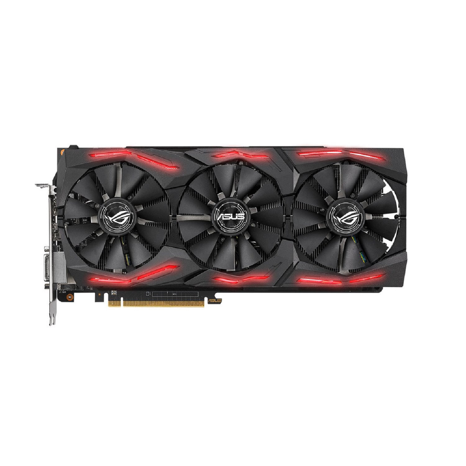 Asus Rog-Strix-Rxvega64-O8G-Gaming Graphics Card - ROG-STRIX-RXVEGA64-O8G-GAMING