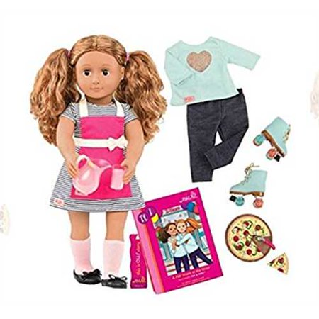 14f5d7ad1d710 Our Generation Deluxe Doll Isa Skating Baking - Walmart.com