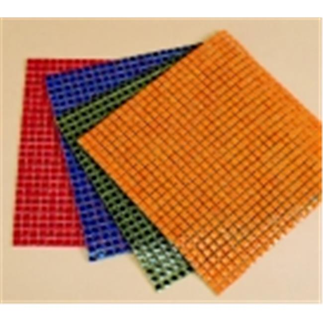 School Specialty Ceramic Solid Square Mosaic Tile Color