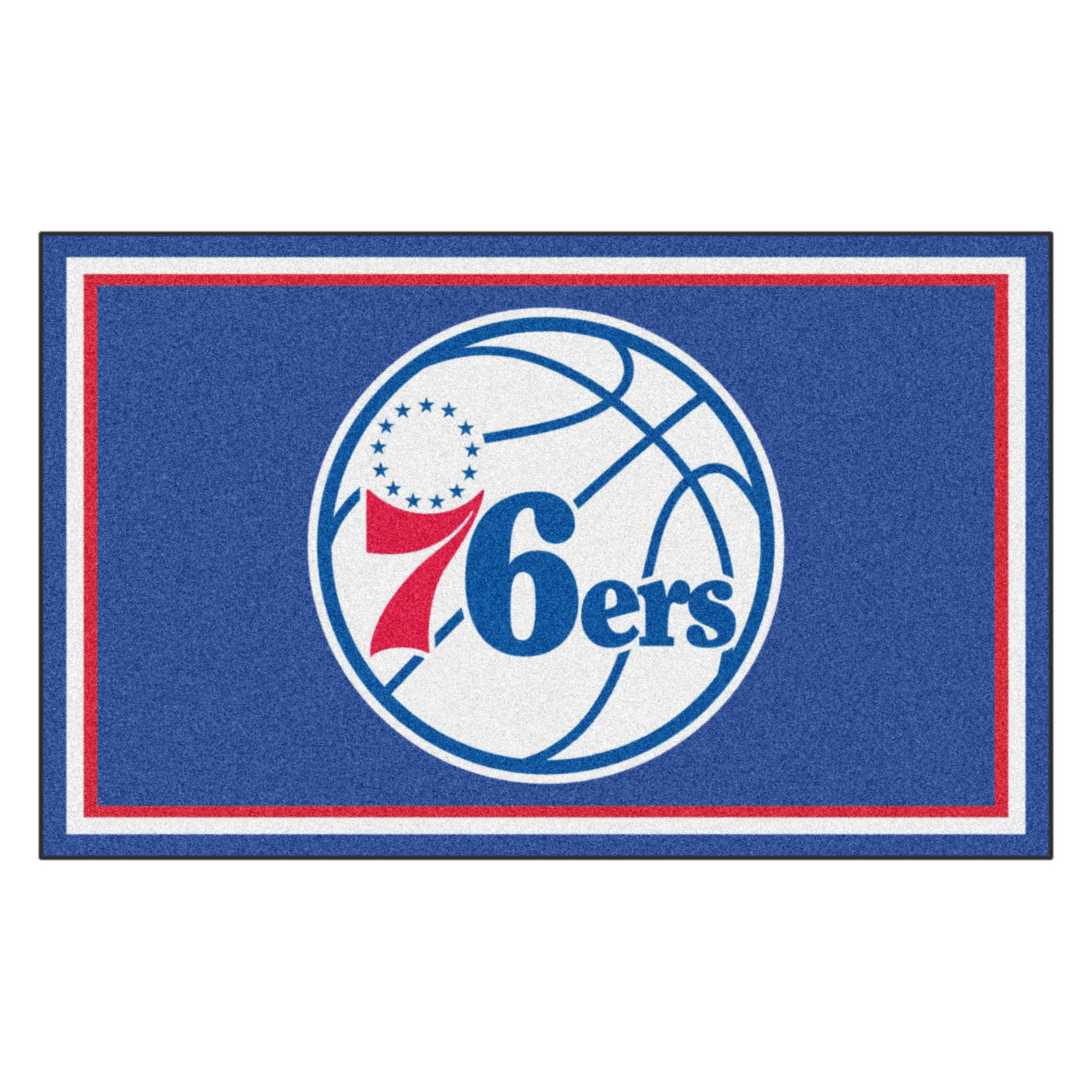 NBA - Philadelphia 76ers 4'x6' Rug
