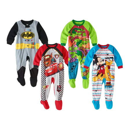 Deal Baby Toddler Boy Character Blanket Sleepers